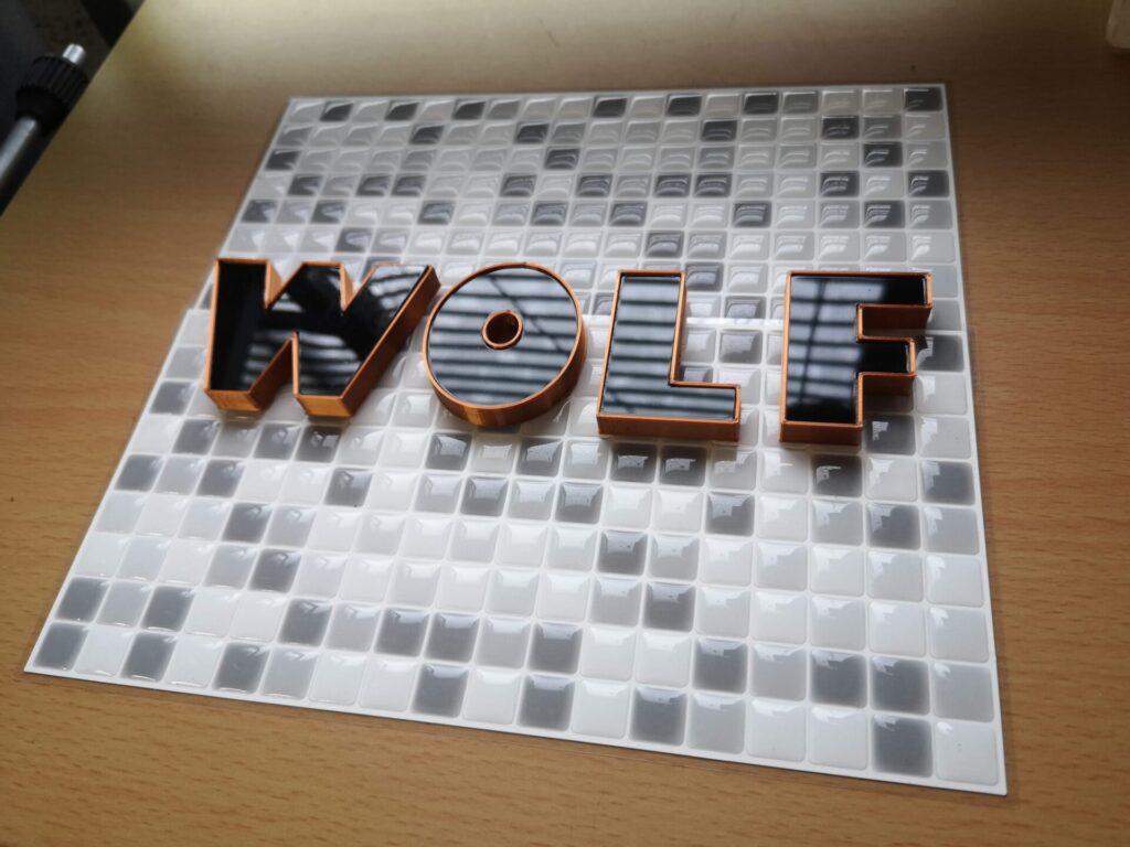 3DプリントチャンネルWOLF